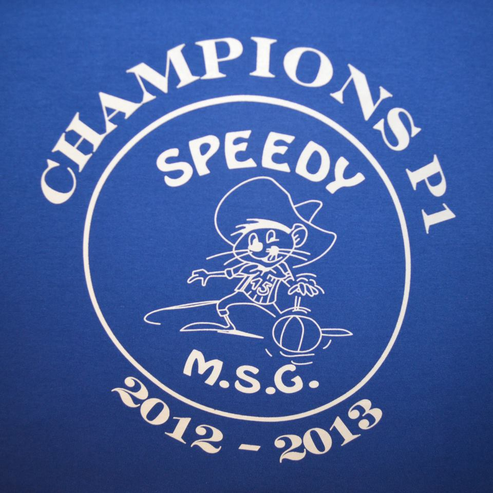 TShirt Speedy Champion 2012-13